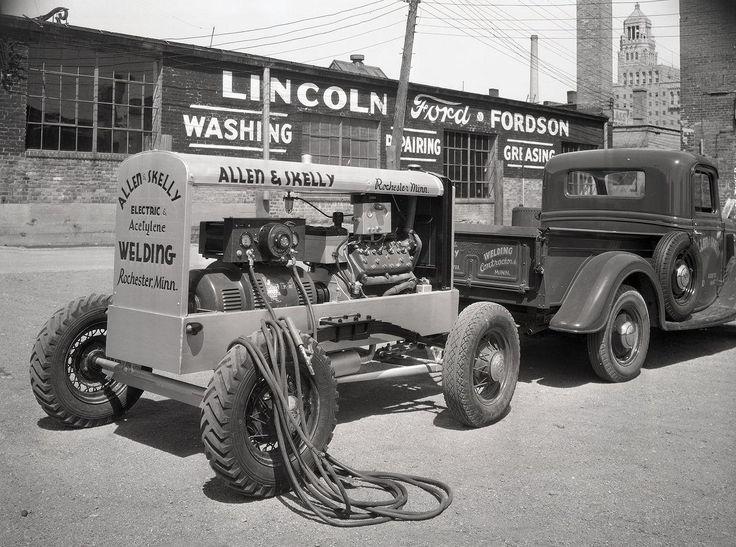 Lincoln Ford Dealership, Rochester, Minnesota Welding
