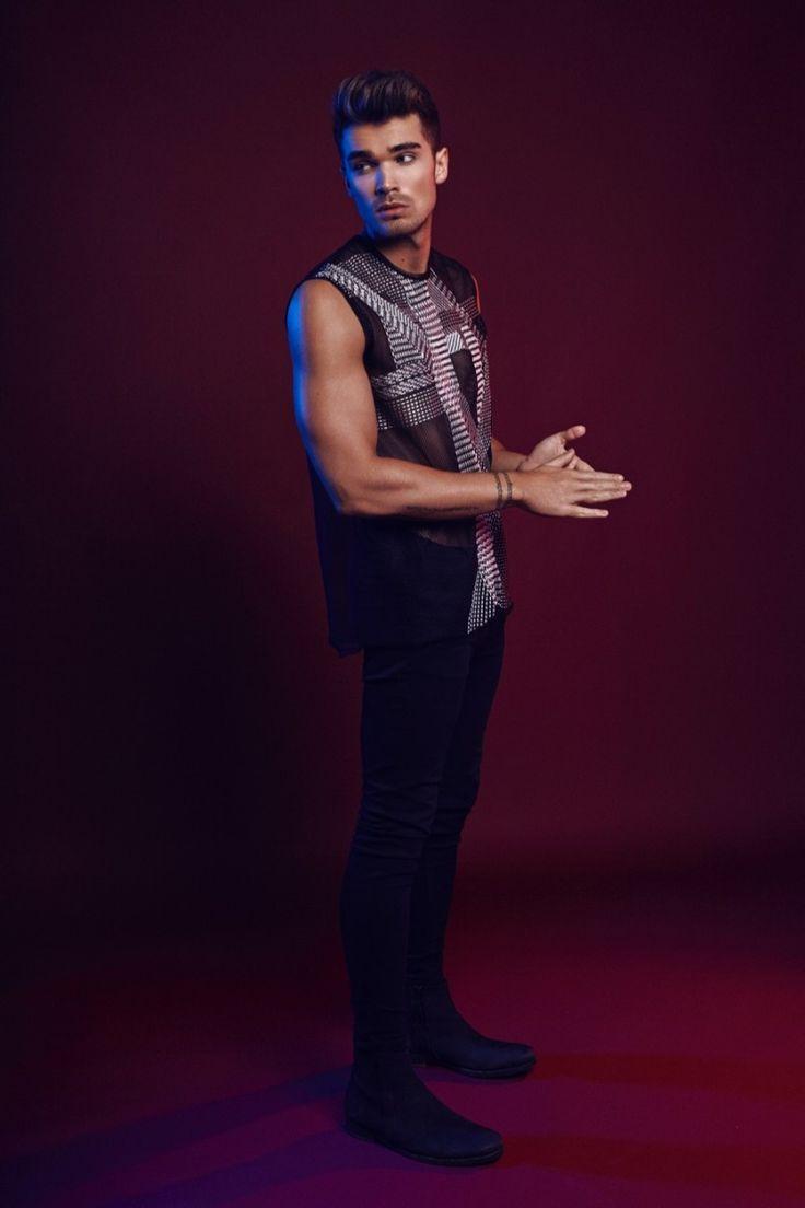 Josh Cuthbert Stars in Candid Magazine Photo Shoot