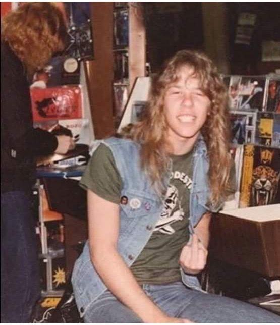 Young James Hetfield