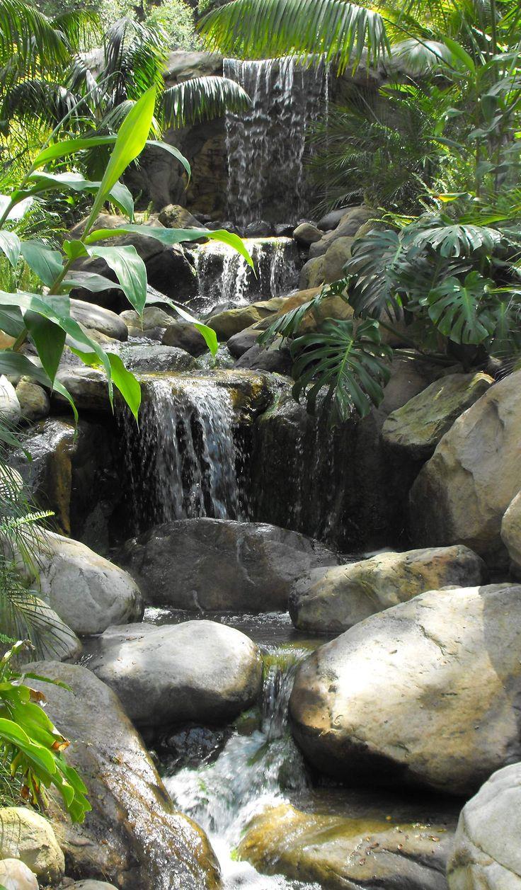 Beautiful Pinspiration   90 Stylish Backyard U0026 Garden Waterfalls   Style Estate