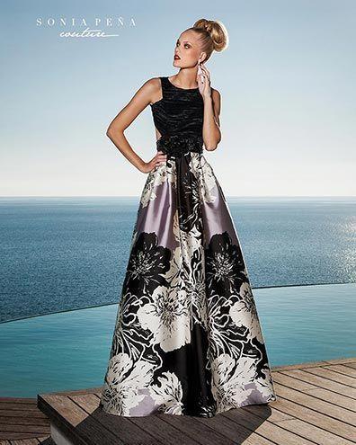 Vestidos de Fiesta y Cocktail. Colección Primavera Verano Completa 2016. Sonia Peña Couture - Ref. 1160193