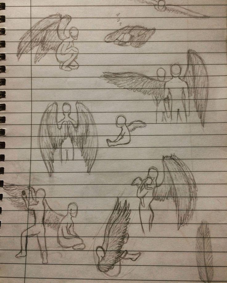 Angel sketch practice