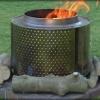 Old washing machine drum firepit !Naturally Nourishing