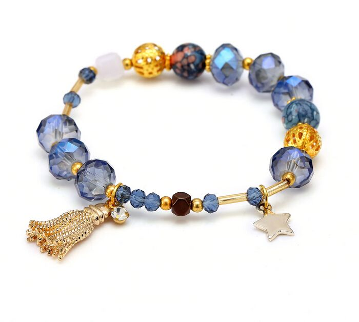 Find More Chain & Link Bracelets Information about Zenper Large hole crystal beads bracelets natural stone bracelets DIY bracelet femme Christmas Gift  Pulseras drop shipping L59,High Quality gifts option,China gifts for pig lovers Suppliers, Cheap gift medical from Yiwu zenper accessories crafts co.,ltd  on Aliexpress.com