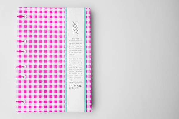 Desain Notes Book - Neula Atelier
