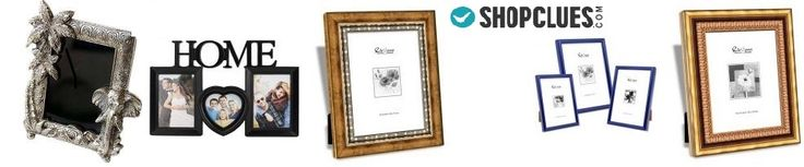 Buy photo frames, digital photo frame, designer photo frame set of 3, table frame, wall frame online from the wide range available at Shopclues.com - India's largest Online Shopping website.