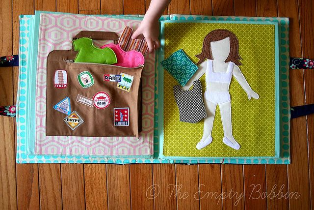 DIY Dress Up gift for little girls. Its portable for travelling & lightweight too!