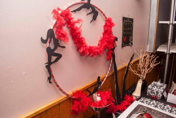 Professional images of the burlesque party I styled… | Design ...