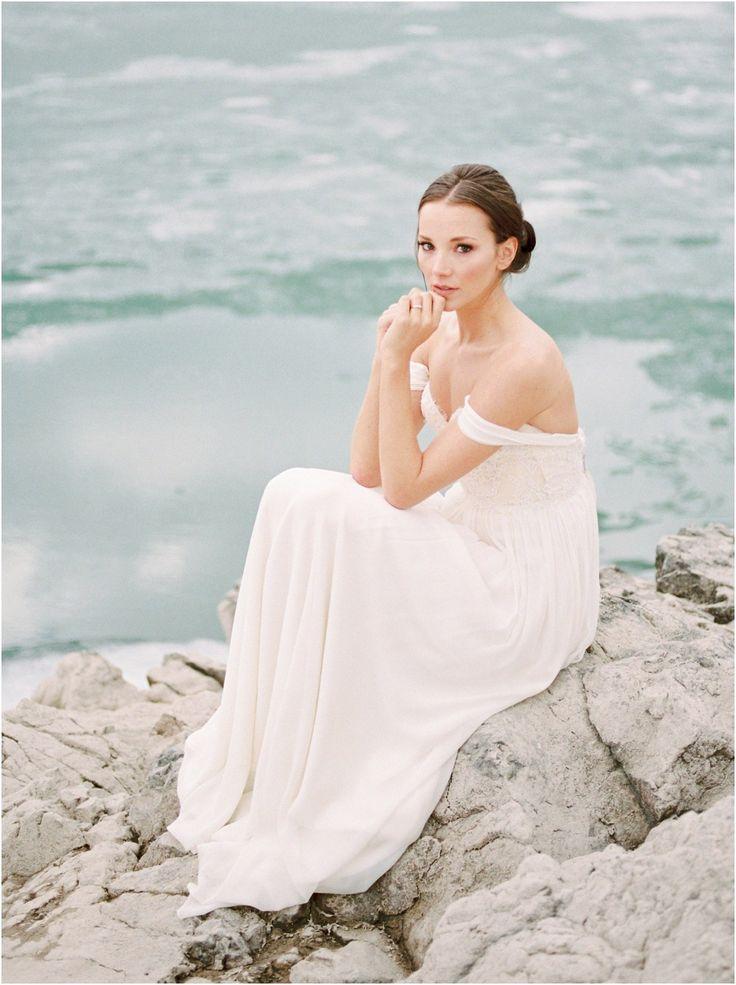 Sarah Seven wedding dress.