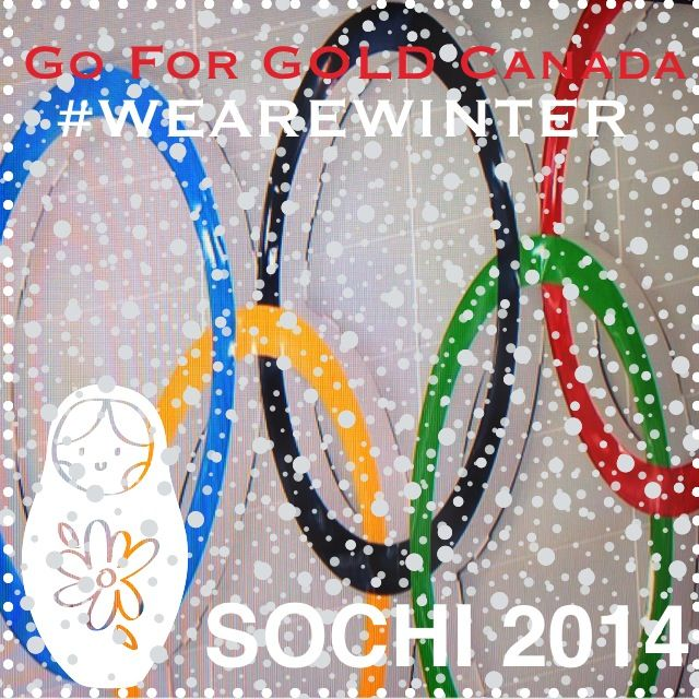 #wearewinter #teamcanada #loveyou #represent #sochi2014 #winterolympics #olympicdream #gold #beyourbestyou #supportourathletes #gocanada  #madewithstudio