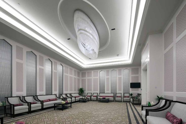 AL RUFAA CELEBRATION HALL COMPLEX   Sans Souci made exclusive light fixtures of Czech glass for five ceremonial halls, six vestibules, a social room and all the corridors.