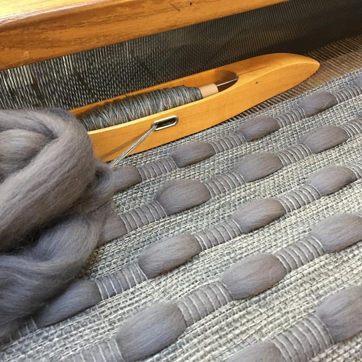 Gorgeous #grey blend on the #loom today. #woven #textile #designer #maker #handwoven #textiles #weaving #techniques #materials #wool #woolroving #Normandy #collection #handmadeinbritain #weaversofinstagram