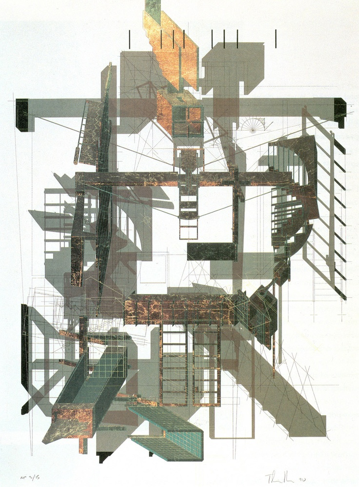 17 best images about thom mayne on pinterest museum of Printing architectural drawings