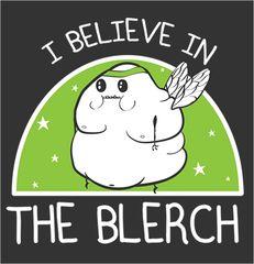 "TheOatmeal.com ""I believe in The Blerch"" Running Shirt - $25"