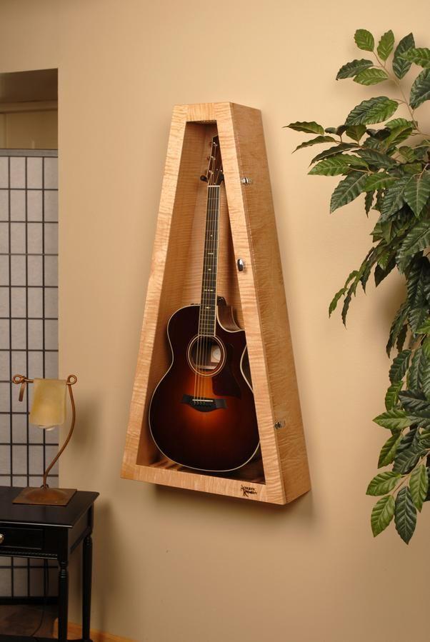 Guitar Display Case Guitarras Eletricas Suporte Para Guitarra Salas De Musica