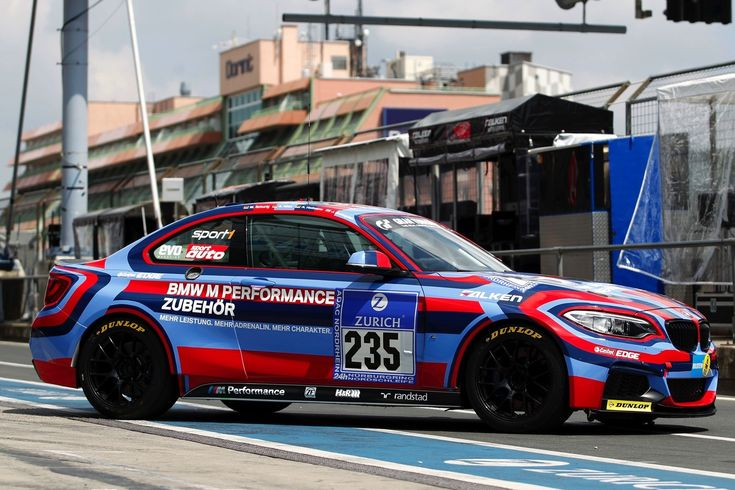 BMW M235i Racing Dressed as Art Car to Race on the Ring this Weekend - autoevolution BMW decided to mark the first endurance race in which the brand new BMW M235i Racing will compete with a special livery that reminds us of the famous Art Car collection the Bavarians put together...