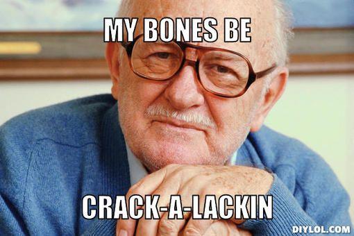 Old Man Meme | Gangster Old Man Meme Generator - DIY LOL