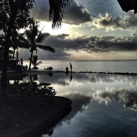 Lux Le Morne at sunset - Mauritius