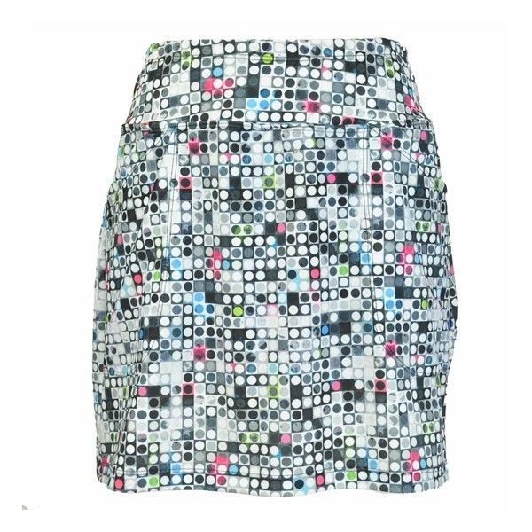B-Skinz Carnation Skort | Golf4Her ($65) ❤ liked on Polyvore featuring activewear, activewear skirts, golf skirts, plus size activewear, women's plus size activewear, petite skorts and blue skort