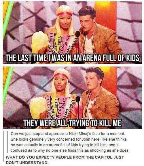Ha... Hunger Games