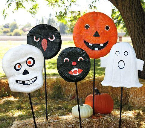 Halloween Shaped Yard Stakes