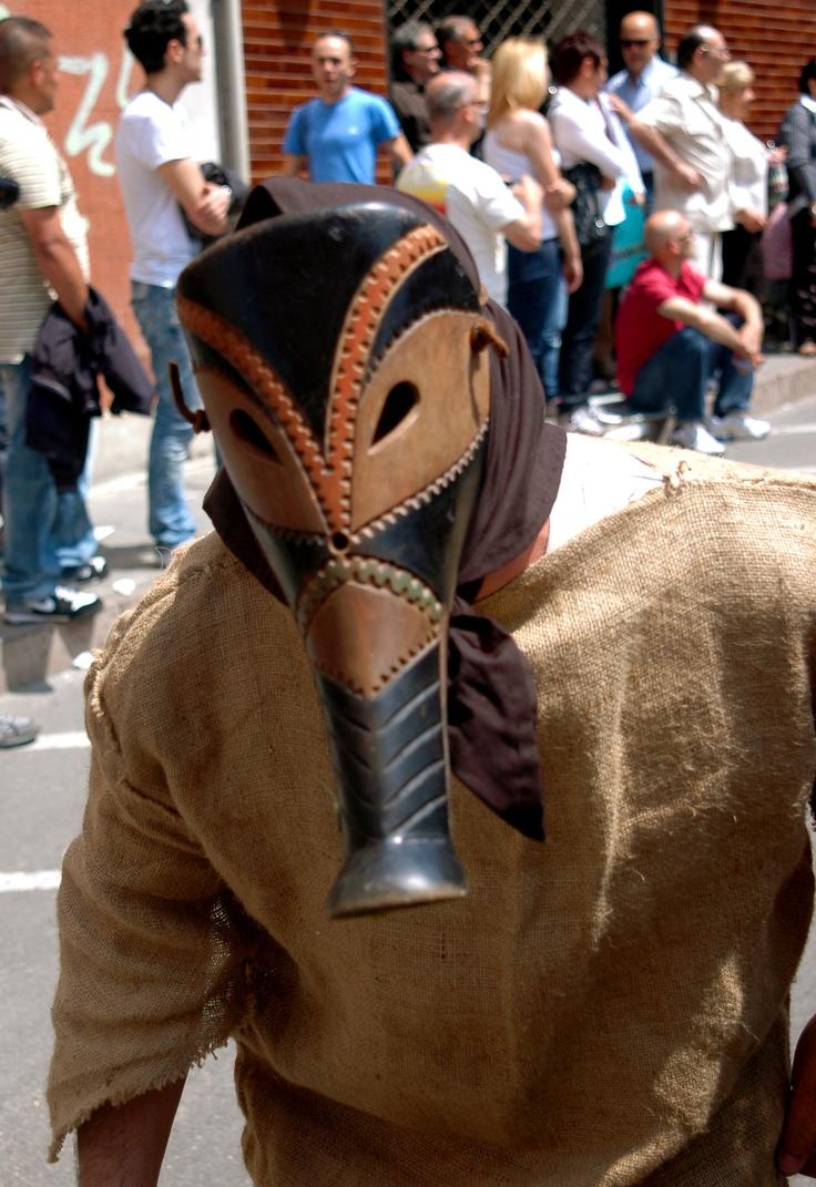 Sardinian traditional mask