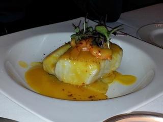 Bacalao Skrey, delicioso . Restaurante Goizeko Kabi, Madrid.  Via www.11870.com/
