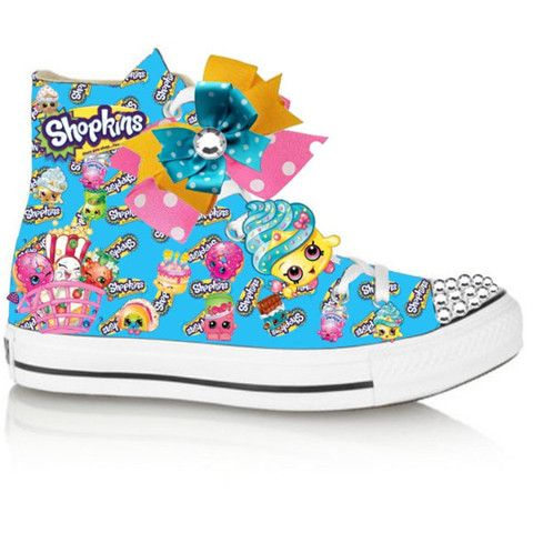 Blue Limited edition shopkins inspired shoe