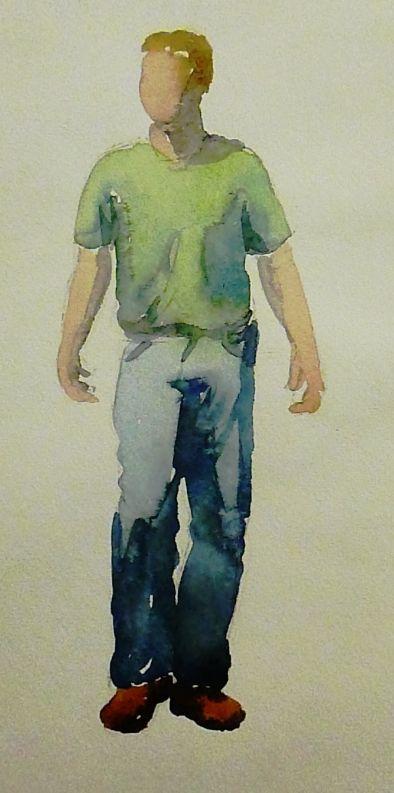 Рисунок фигуры человека на уроках живописи - Арткласс