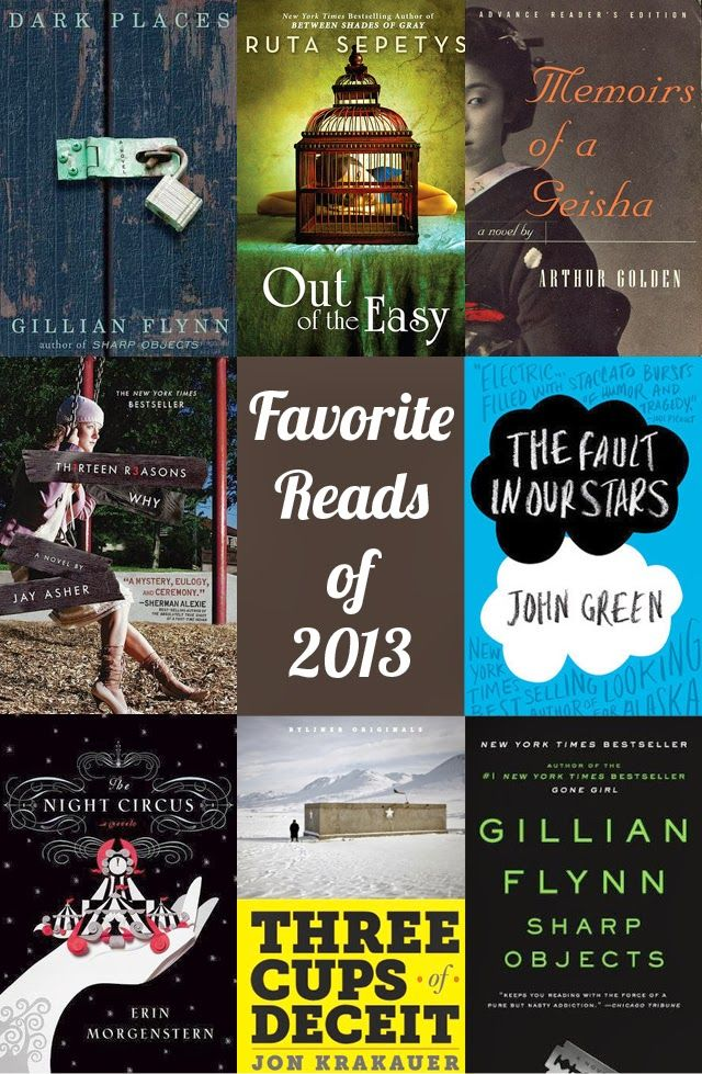 The best books I read in 2013, from nonfiction to young adult to magical realism. (Semi-Charmed Kind of Life)