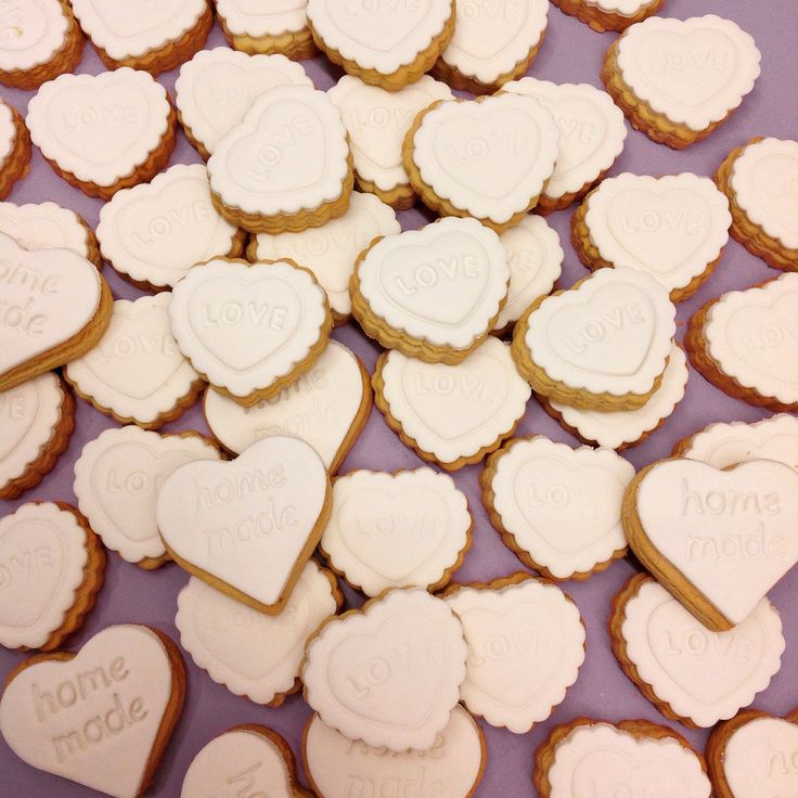 Homemade love, in a biscuit