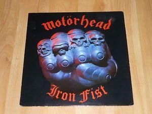 MOTORHEAD - Iron Fist - UK VINYL LP