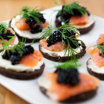 Smoked salmon and cream cheese an all rounder