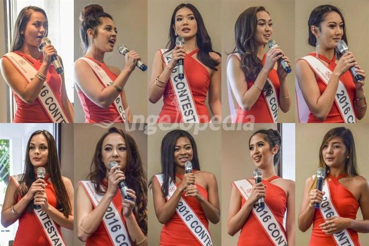 Miss World Guam 2016 Meet the contestants
