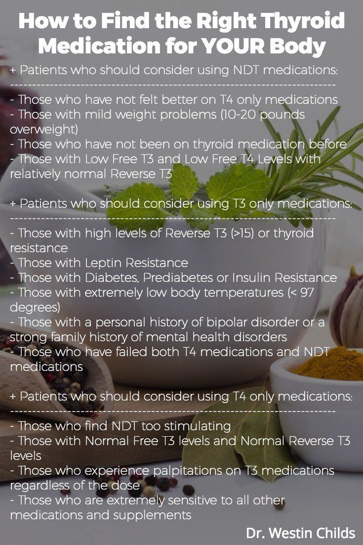 The right thyroid medication for your body