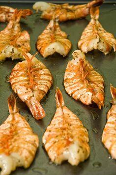 Esta receta me encanta porque es con mucho del estilo de nuestra revista. Pocos ingredientes, fácil procedimiento y montones de sabor. #receta #camarones #delicia