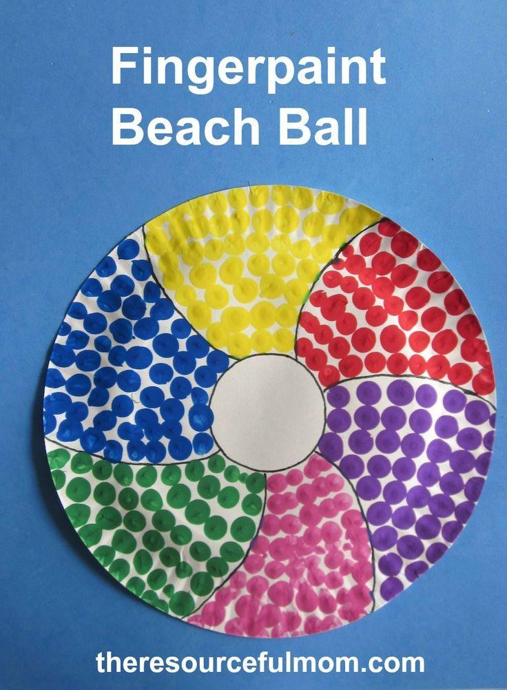 Best 25 Beach Ball Crafts Ideas On Pinterest Summer
