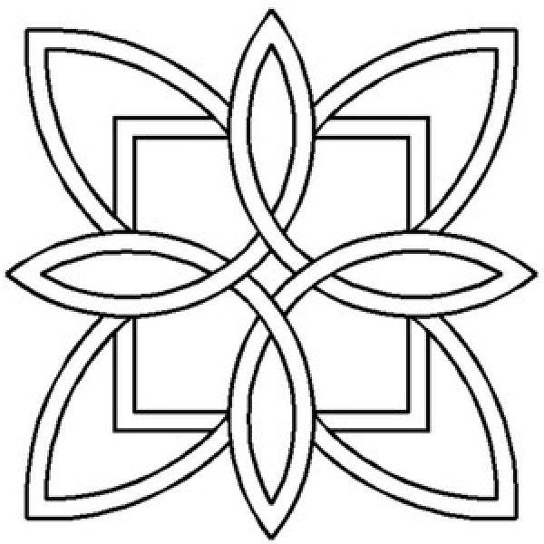 wave quilting stencils | Quilt Stencils  Templates : Quilt Stencil Celtic Design 3 Pack ...