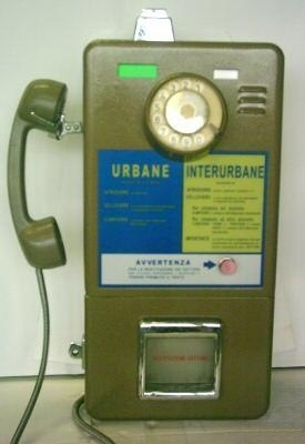 Ok it's a public phone (since 1970 more or less)...but we had fun even with that!
