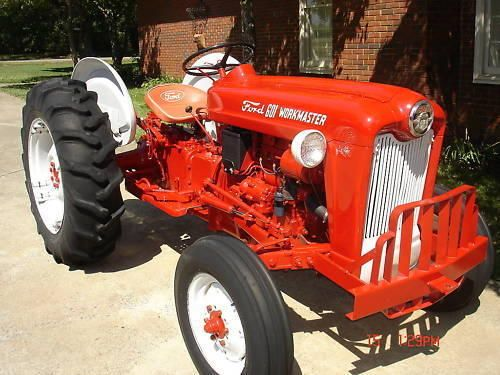 601 Ford Tractor Bumper : Best images about simple powerful old ford tractors