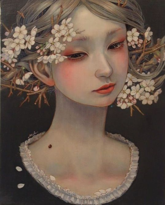 from 'The Beauties of Nature' series, 2015 -- by Hirano Miho 平野実穂, Japanese **