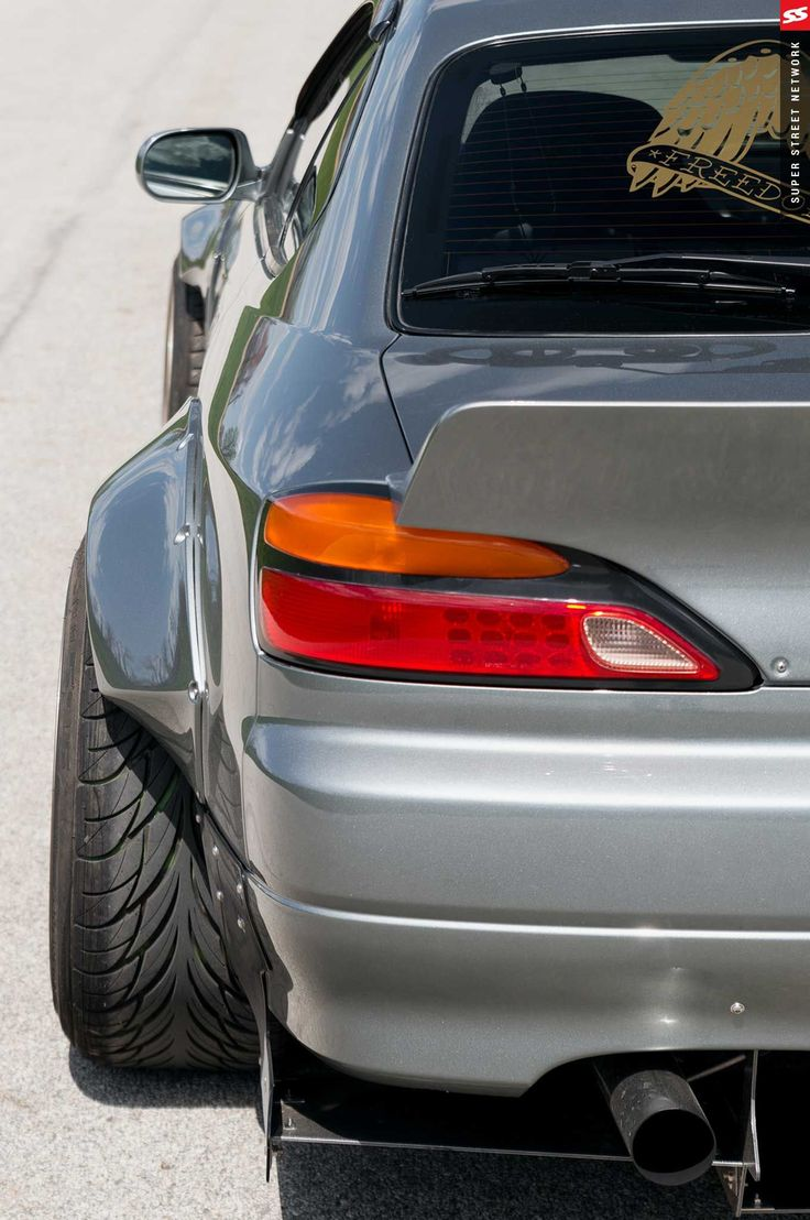 2000 s15 nissan silvia rocket bunny rear over fender