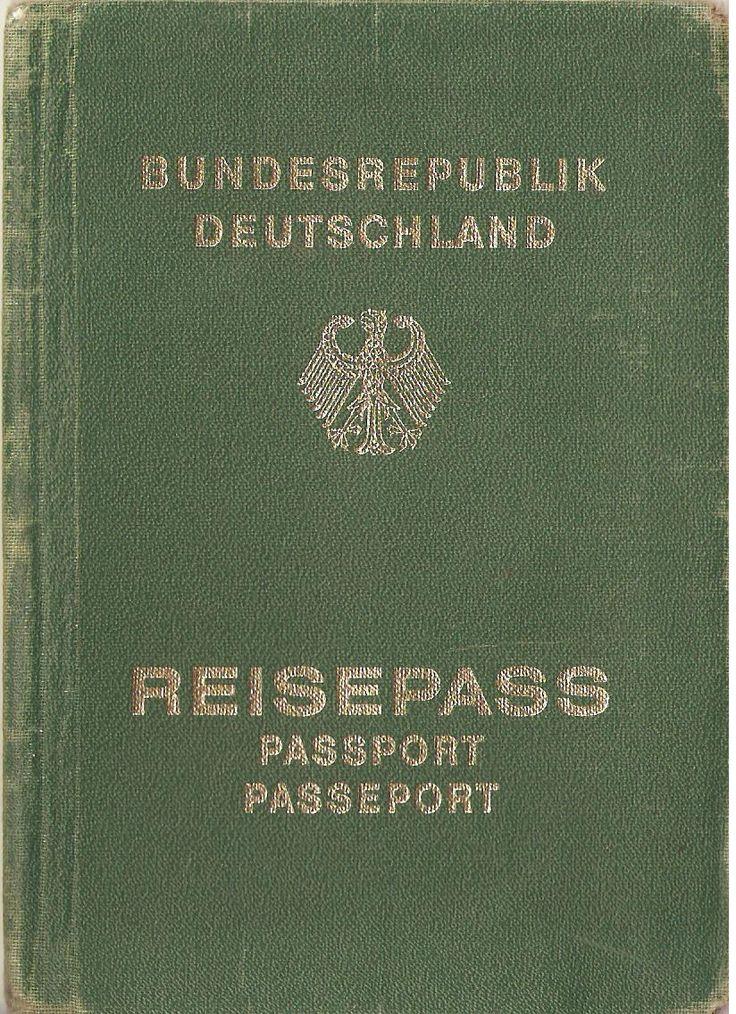 1940 u0026 39 s german passport cover