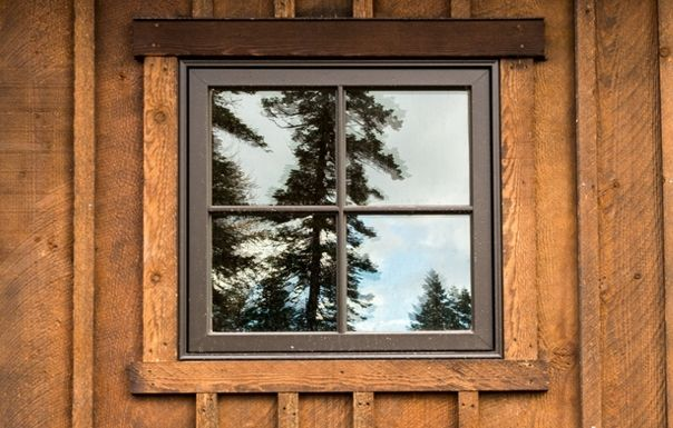 ranchwood™- Prefinished premium alternative to reclaimed barnwood: Rustic Wood Siding and Timbers for Montana Barn-Montana