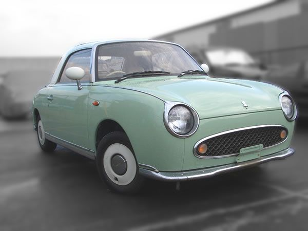 nissan figaro 1989 :The Nissan Figaro is a small retro car manufactured by Nissan. The car was originally sold only in Japan.