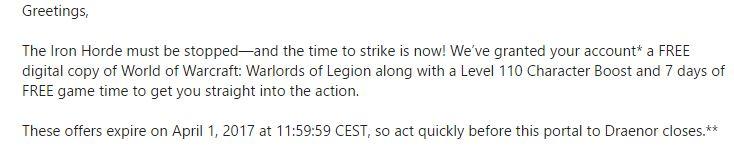 Warlords of Legion sounds great #worldofwarcraft #blizzard #Hearthstone #wow #Warcraft #BlizzardCS #gaming