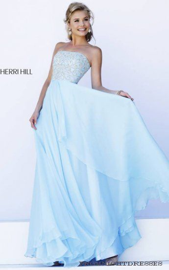 12 besten Light Blue Prom Dress Bilder auf Pinterest | Abendkleider ...