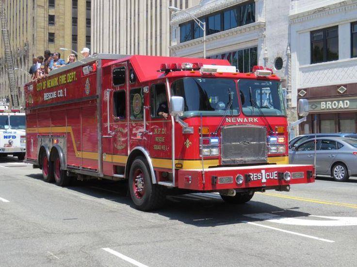 Garden City Park Fire Department E3 Fire Fightersequipment And