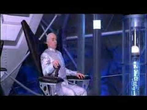 Dr. Evil and his rotating chair