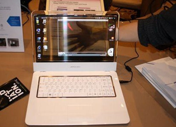 Transparent OLED Screen for Samsung Notebooks